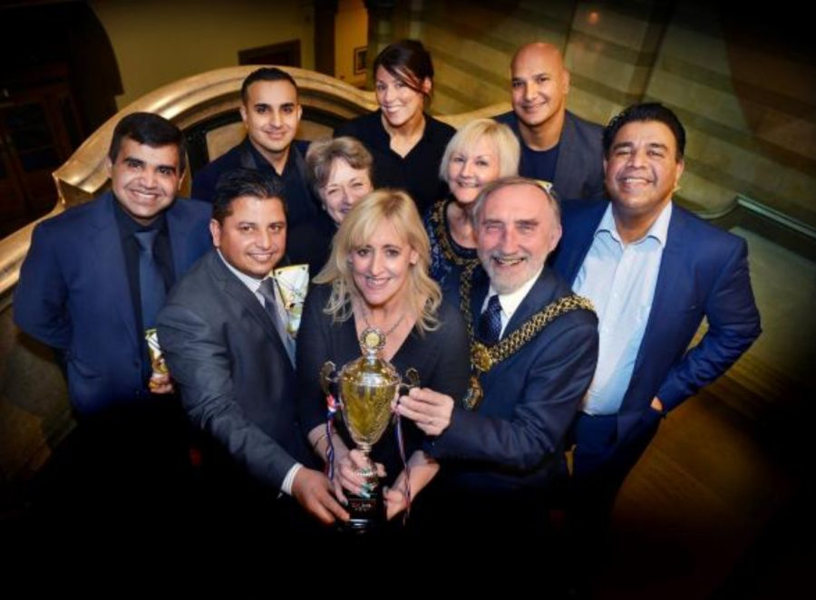 Civic reception held for Bradford's victorious Curry Capital of Britain team